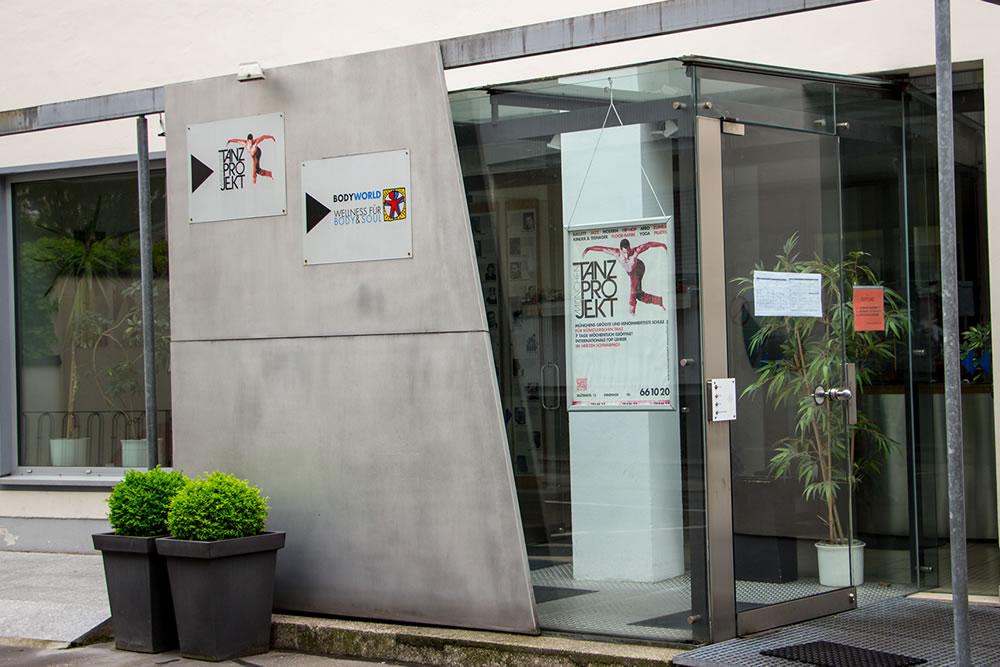 Eingang Tanzprojekt München