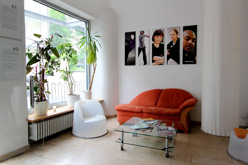 Foyer im Tanzprojekt Muenchen